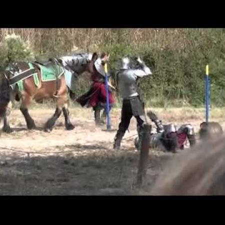 Jousting at the Louisiana Renaissance Festival